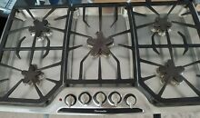 THERMADOR  36   NATURAL GAS COOKTOP STAINLESS STEEL 5 BURNERS SGSX365CS