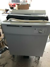 Used  GE basic white dishwasher  Only used for 6 months  Works well