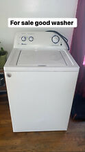 Washer and dryer set used