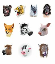 ANIMAL MASKS BEAR COW ELEPHANT HORSE LION TIGER PIG COW MANY OTHER KINDS