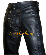 leather pants NEW leather trousers/gay pants/Cod piece