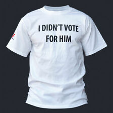 Conservative T-shirt I DIDN'T VOTE FOR HIM - OBAMA