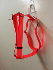 Fully Adjustable Dog Harness Metal Hardware USA Made