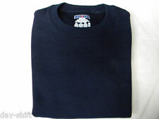 JERZEES YOUTH CREW SWEAT SHIRTS~ LONG SLEEVE NEW YOUTH~DARK BLUE~FREE SHIPPING~