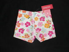 NWT GYMBOREE FLORAL REEF WHITE FLOWER SUMMER SHORTS 3 4