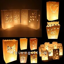 Fashion Much Styles Patern Paper Candle Lantern Bags For Wedding Party Favor