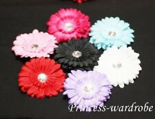 "Girls 4"" Crystal Daisy Flower Hair Clip For Pettiskirt"