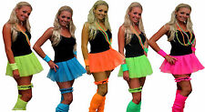 Neon Pleated Tutu 1980s Clubbers Fancy Dress Dancewear Hen Party UK Dare2wearuk