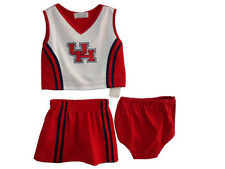 Collegiate Cheer-leading Outfits Texas Universities UT, UH, and ATM