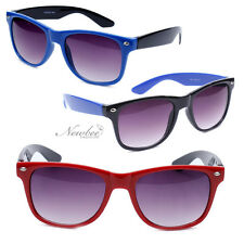 Choose Your Color Retro Two Tone Colorful Sunglasses 80s Funny Party Props