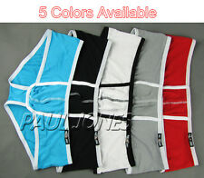 Low Rise Sexy Men's Underwear Boxers Briefs Trunks Shorts Brand new PJ + 5Colors