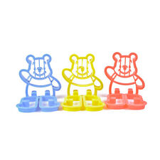 3D Cartoon Kids Cookie Dough Pastry Cutters Available in 3 Colours Winnie