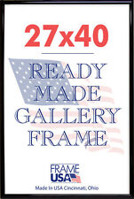 27x40 Deluxe Poster Frame w/Plexi-Glass - 3 Colors!