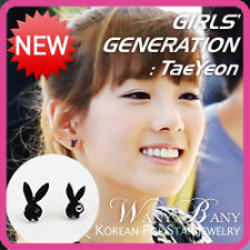 KPOP Star Girls Generation SNSD TAEYEON Rabbit Earrings