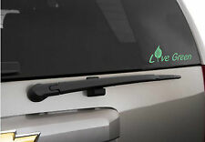 """Live green bumper sticker    ""  Vinyl Wall Decal"