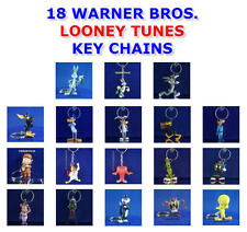 WARNER BROS LOONEY TUNES KEY CHAIN KEYRING BACKPACK ZIPPER PULL - YOU PICK ONE!