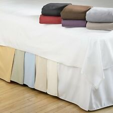 Bed Skirts Solid Bedskirts Available In All Sizes and Colors