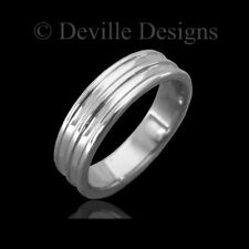 6mm GENTS PLAIN CHUNKY TUNGSTEN CARBIDE RING / MENS WEDDING BAND