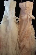 NEW MACIS Prom Pageant Dress Size 8 White - Very pretty dress for Wedding