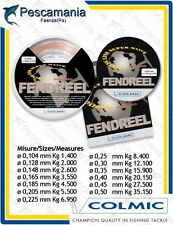 Monofilo colmic FENDREEL mt.300 / reel line nylon no memory made in japan