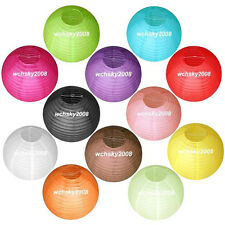 """Multicolor Chinese paper Lanterns Wedding Party Decorations 8"""" 10"""" 12"""""""