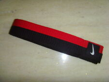 NIKE TAEKWONDO POOM (BLACK + RED) BELT