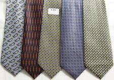 MENS NEW TIES HAND MADE 100% POL .PRICE FOR   5 TIES -T 051