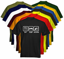Eat Sleep Mens T-Shirt Eat Sleep Roofer Size & Colour Options