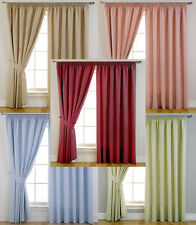 Clarke & Clarke Dotty Spotted Ready Made Blackout Fabric Curtains - Bedroom Kids