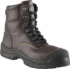 Oliver Work Boots Steel-Toe AT's 55239 Claret Lace Up.  Brand New! *All Sizes