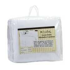 WHITE GOOSE DOWN ALTERNATIVE COMFORTER  KING SIZE QUEEN SIZE FULL SIZE AVAILABLE