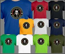 USMC One Shot One Kill T-Shirt Sniper Rifle Long Distance Death Marine Corps
