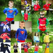 Halloween Superman Robin Buzz Hero Party 4 Boy Drss Up Cosplay Costume On Sale