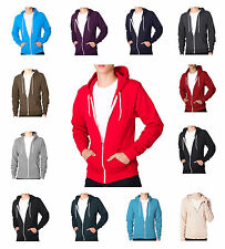 Soul Star New Full Zip Hooded Top Fleece Sweatshirt Hoodie All Colours & Sizes