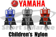 Brand New Yamaha Waverunner Children's Nylon Life Jacket Vest PFD