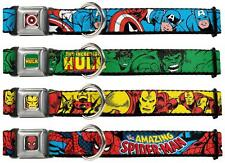 Dog Collar Seat Belt Buckle Marvel Captain America Hulk Iron Man Spider Man