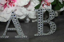 "2 1/8"" Lg Diamond Rhinestone Alphabet Letters Self Adhesive Scrapbooking Sticker"