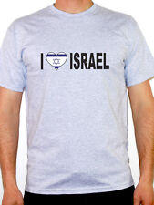 I Love Israel T-Shirt - Mens - Various Sizes and Colours