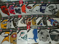 """NEW NFL 'LARGE SIZE' Car / Automobile Magnets [12""""] -Almost ALL TEAMS AVAILABLE!"""