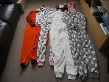 Primark Womens Fleece All In One Pyjamas Sleepsuit Onesie Pyjamas *BNWT* NEW