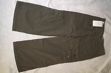 ARMANI JUNIOR NEW ARMY CARGO PANTS TROUSER OLIVE GREEN SIZE 5