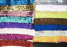 NEW Sequin Headband Sports Dance Softball Volleyball Basketball Yoga Run Sparkle