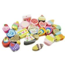 50 100 500 1000 Nail Art DIY mixed fimo Polymer Clay Spacer Beads Hole BJ003