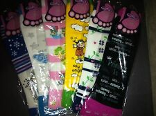 Super Cute Brand New Toe Socks - 6 Pairs Different Designs ONE SIZE FITS MOST