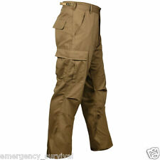 Operator Concealed Carry Duty Pants Cargo 6 Pocket - COYOTE TAN