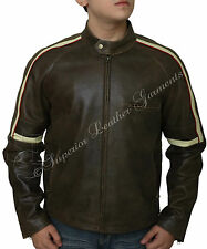 War Of The Worlds Tom Cruise Fitted Real Leather Jacket