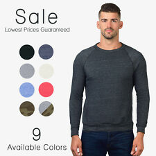 Alternative Apparel The Champ Eco Fleece Crew Sweatshirt Ebay's LOWEST PRICE!!