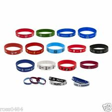 Football Silicone Wristband Band OFFICIAL Christmas Xmas Birthday Gift