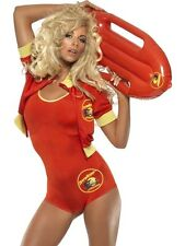 Super Sexy Ladies Baywatch Beach Party Lifeguard Fancy Dress Costume Outfit