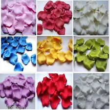 2000pc Silk Rose Petal  Wedding Supplies wholesale 9 color choices Free Shipping